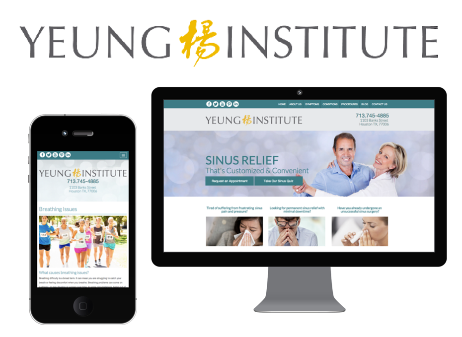 Yeung Institute for Houston Sinus Surgery launches new website